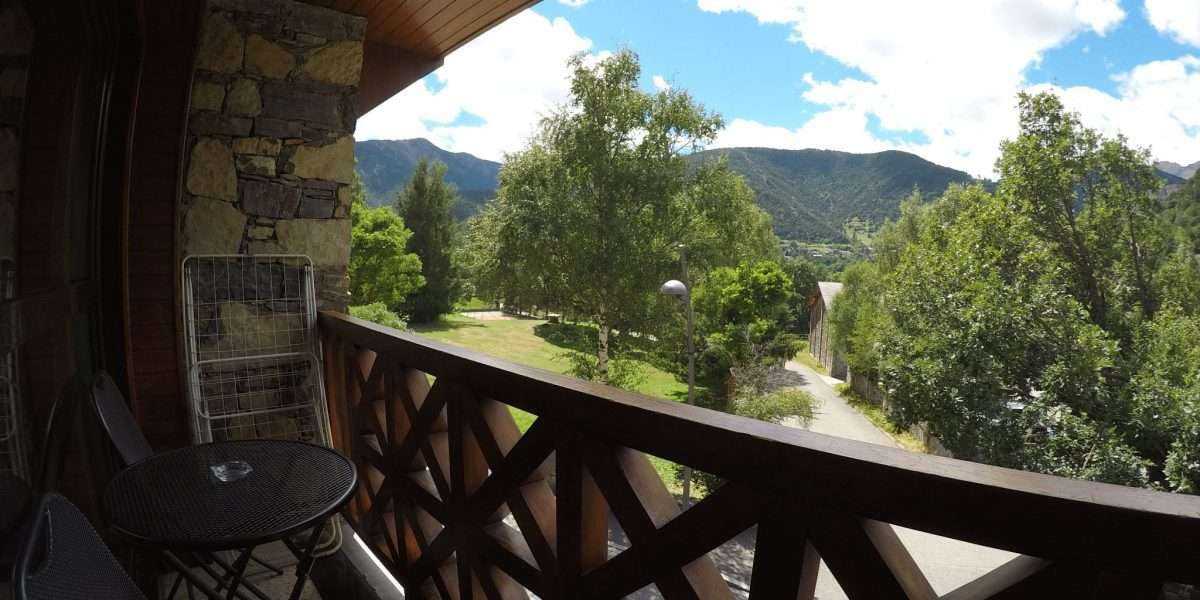 vues depuis le balcon