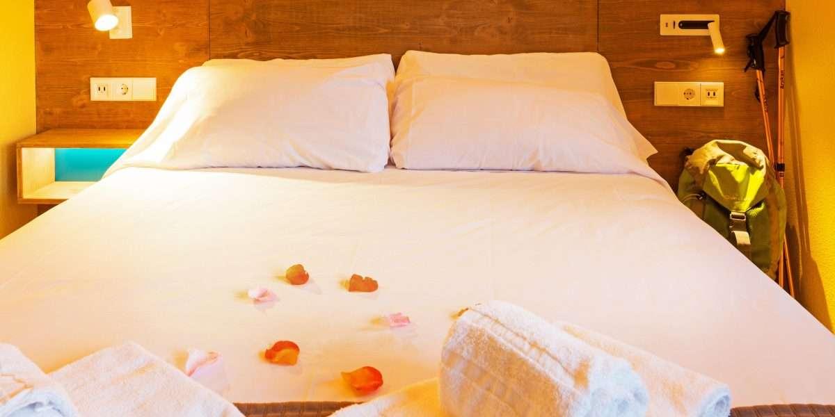 lit double avec 150 x 200