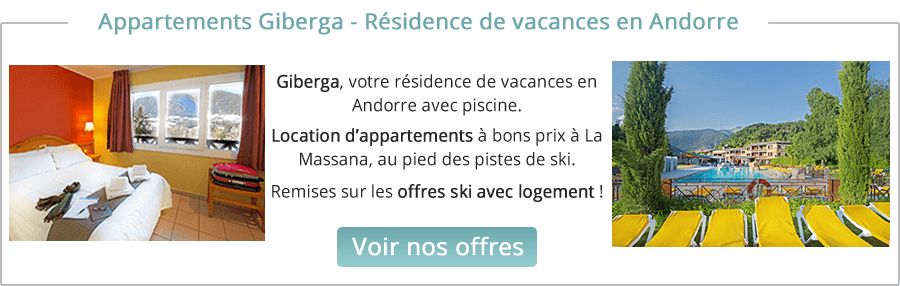 location appartement Andorre ski